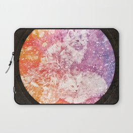 Vintage Acrylic Kittens Laptop Sleeve
