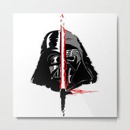 Vader/Ren Metal Print