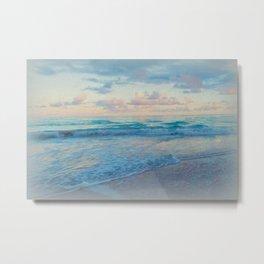 SUNSET FANTA-SEA Metal Print