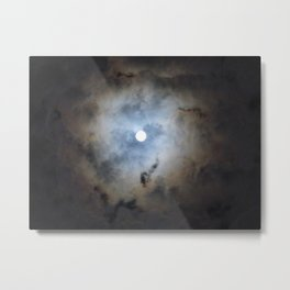 A Wish upon the Full Moon Metal Print