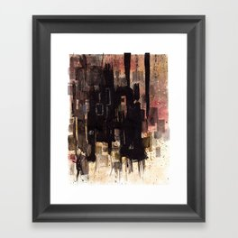 #1 Framed Art Print