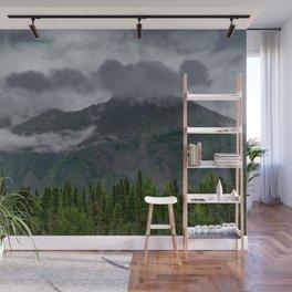 Summer Storm Clouds - Kenai_Peninsula, Alaska Wall Mural