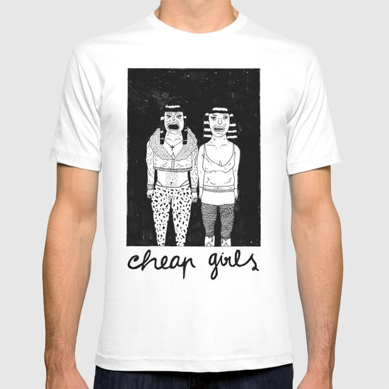 CHEAP GIRLS T-shirt
