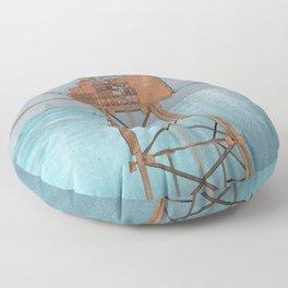 Oil Rig Floor Pillow