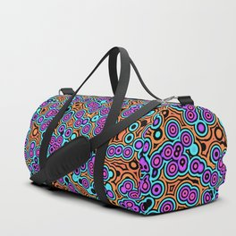 Vibrant Bubbles Duffle Bag