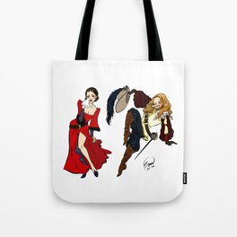 Happy Frasierween ~ Daphne and Niles Tote Bag