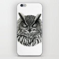 Owl G2012-046bis iPhone & iPod Skin