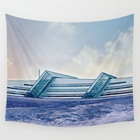 business Wall Tapestries featuring Business by Truly Juel