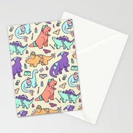 Dinosaur Panty Raid Stationery Cards