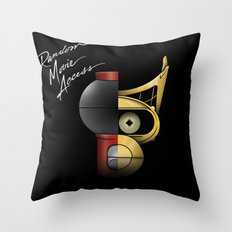 Random Movie Access Throw Pillow
