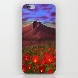 Flowers at Dusk iPhone Skin