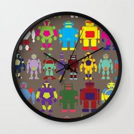 Robot Army Wall Clock