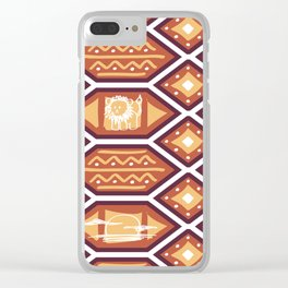 African Heat Clear iPhone Case