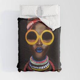 'Black Gold' Duvet Cover
