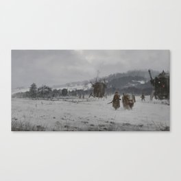 1920 - winter patrol Canvas Print