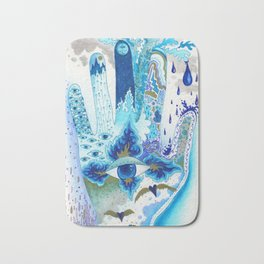 Hand of Protection Bath Mat