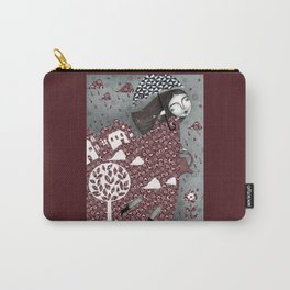 Clouds in July, Raindrop Sky Carry-All Pouch