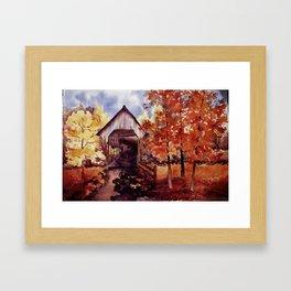 Watsonia Framed Art Print