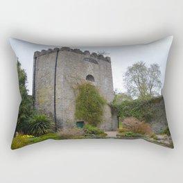 Walled Garden, Malahide Castle Rectangular Pillow