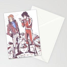 80's klance_sketchy_messy Stationery Cards