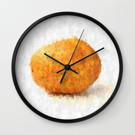 Big Potato Wall Clock