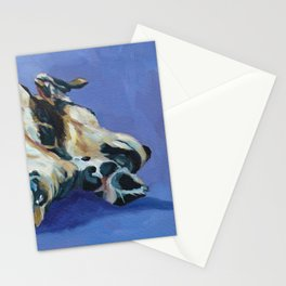 A Dog's Paws Portrait Stationery Cards