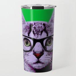 Warhol Cat 3 Travel Mug