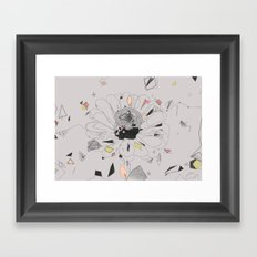 party flower Framed Art Print