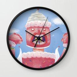 Robo-Cake Wall Clock