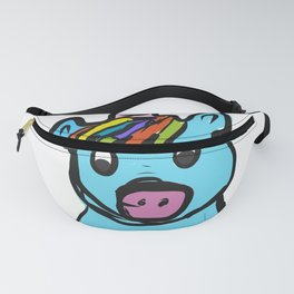 Cute Unicorn design for Girls Hand Drawn Graphic product Fanny Pack