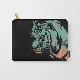 Tiger art print wild animal  Carry-All Pouch
