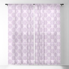 Curly Lines Sheer Curtain