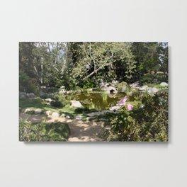 Summer Pond Metal Print