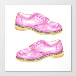 Pink Doc Martins Canvas Print