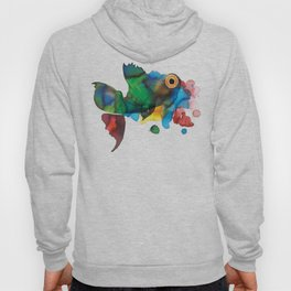 colorful fish Hoody