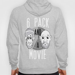 OFFICIAL 6 PACK AND A MOVIE PODCAST LOGO Hoody