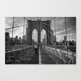Bridge Lines Canvas Print