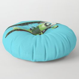 Learn To Fly Floor Pillow