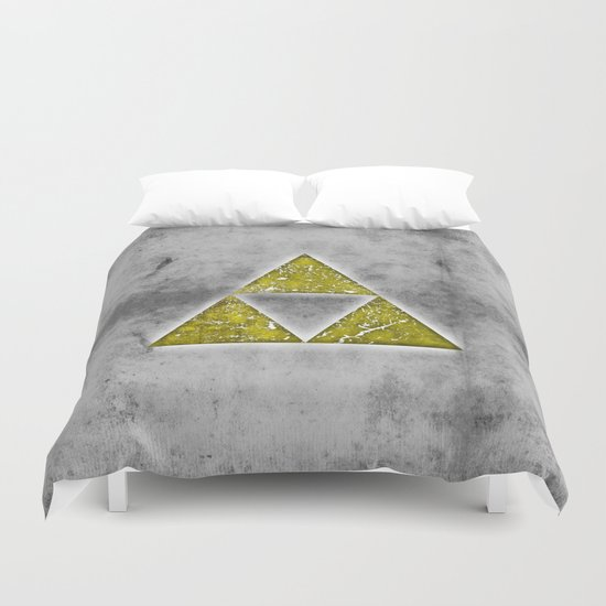 Power Wisdom Courage Duvet Cover