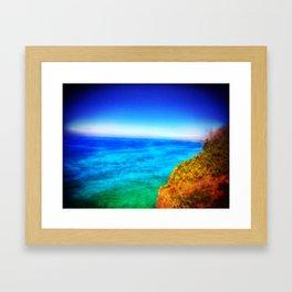 Caba Beach Framed Art Print