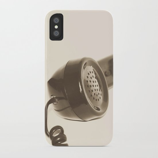 Let's Talk iPhone Case