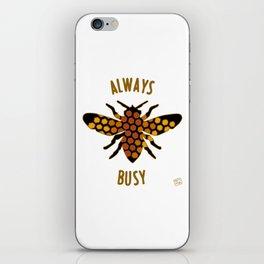 Always Busy Bee iPhone Skin