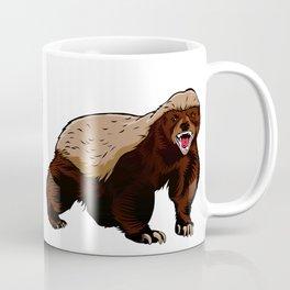 Honey badger illustration Coffee Mug