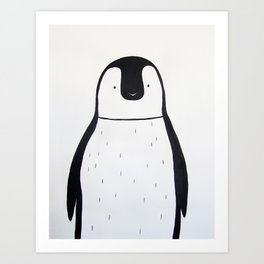 No. 0011 - Modern Kids and Nursery Art - The Penguin Art Print
