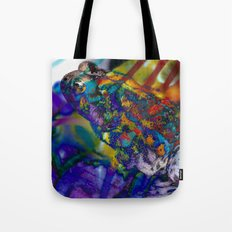 Fire Toad Tote Bag