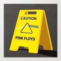 floyd Canvas Prints featuring Pink Floyd by gunberk