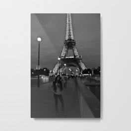 Tower De Eiffel Metal Print