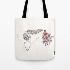 rose shower Tote Bag