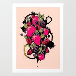 Bramble Bush Art Print
