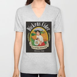 Dickens Cider - Every Girls Likes A Dickens Cider! Unisex V-Neck
